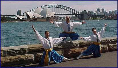 Cossack Brothers on Sydney Harbour